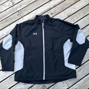 Under Armour Youth Black Grey Light Jacket YXL